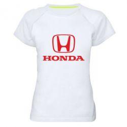 Женская спортивная футболка Honda Classic - FatLine
