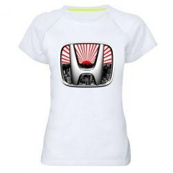 Женская спортивная футболка Honda JDM