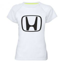 Женская спортивная футболка Honda Logo - FatLine
