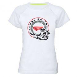 Женская спортивная футболка Honda Racing - FatLine