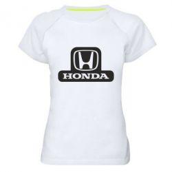 Женская спортивная футболка Honda Stik - FatLine