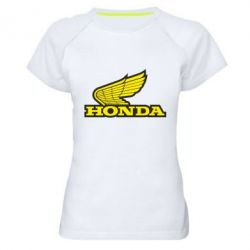 Женская спортивная футболка Honda Vintage Logo - FatLine