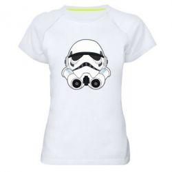 Женская спортивная футболка Имперский штурмовик - FatLine