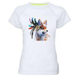 Жіноча спортивна футболка Indian Fox