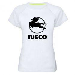Женская спортивная футболка IVECO - FatLine