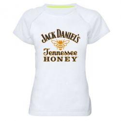 Женская спортивная футболка Jack Daniel's Tennessee Honey - FatLine