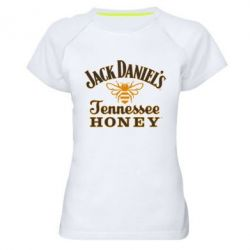 Женская спортивная футболка Jack Daniel's Tennessee Honey