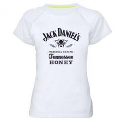 Женская спортивная футболка Jack Daniels Tennessee - FatLine