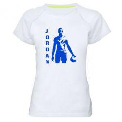 Женская спортивная футболка Jordan - FatLine