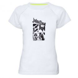 Женская спортивная футболка Judas Priest - FatLine