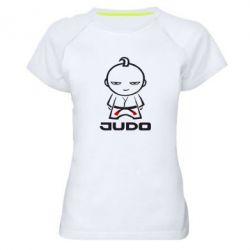 Женская спортивная футболка Judo Fighter - FatLine