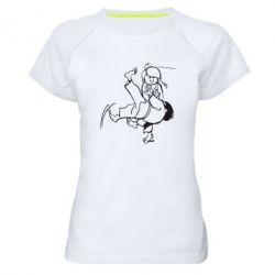 Женская спортивная футболка Judo Fighters - FatLine