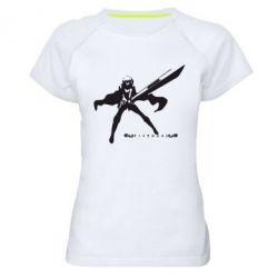 Женская спортивная футболка Клеймор