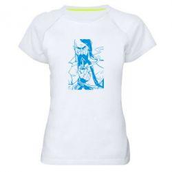 Женская спортивная футболка Козачина з люлькою - FatLine
