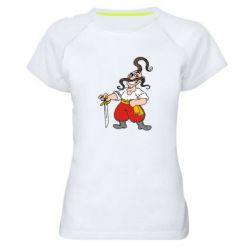 Женская спортивная футболка Козачок - FatLine
