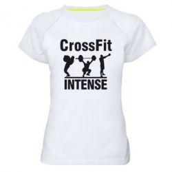 Женская спортивная футболка Кроссфит - FatLine
