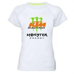 Женская спортивная футболка KTM Monster Enegry - FatLine