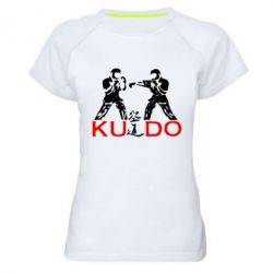 Женская спортивная футболка Kudo Fight - FatLine