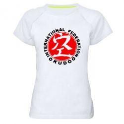 Женская спортивная футболка Kudo - FatLine