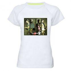 Женская спортивная футболка Left 4 Dead 2 - FatLine