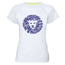 Жіноча спортивна футболка лев - FatLine