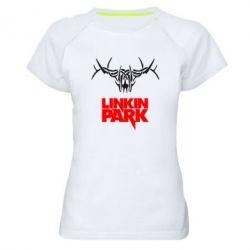 Женская спортивная футболка Linkin Park Logo - FatLine