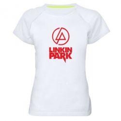 Женская спортивная футболка Linkin Park - FatLine