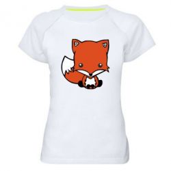 Жіноча спортивна футболка Лисиця - FatLine