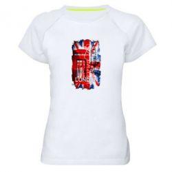 Женская спортивная футболка Лондон