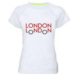 Женская спортивная футболка London - FatLine
