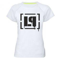 Женская спортивная футболка LP - FatLine