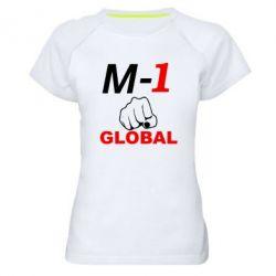 Женская спортивная футболка M-1 Global - FatLine