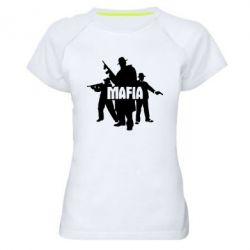 Женская спортивная футболка Mafia - FatLine