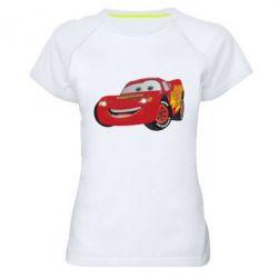 Женская спортивная футболка Маккуин - FatLine