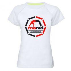 Женская спортивная футболка Manto Zaporozhye - FatLine