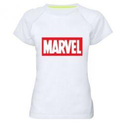 Женская спортивная футболка MARVEL - FatLine