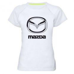Женская спортивная футболка Mazda Small - FatLine