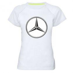 Женская спортивная футболка Mercedes - FatLine