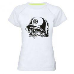 Женская спортивная футболка Metal Mulisha - FatLine