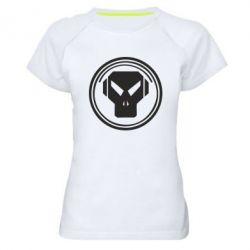 Женская спортивная футболка metalheadz - FatLine