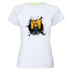 Купить Женская спортивная футболка Metro: Last Light Art, FatLine