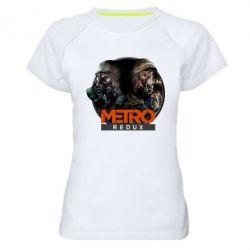 Женская спортивная футболка Metro: Redux