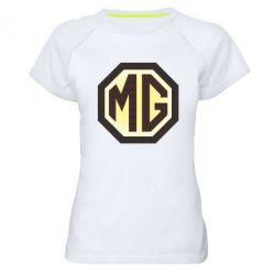 Женская спортивная футболка MG Cars Logo - FatLine