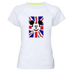 Женская спортивная футболка Mickey Swag - FatLine
