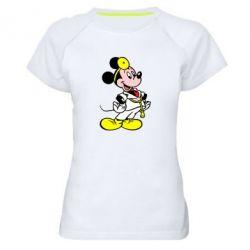Женская спортивная футболка Микки Доктор