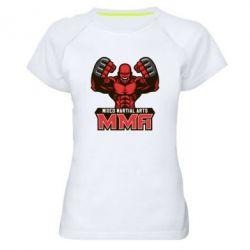 Женская спортивная футболка MMA Fighter 2 - FatLine