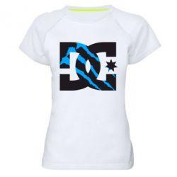 Женская спортивная футболка Monster DC - FatLine