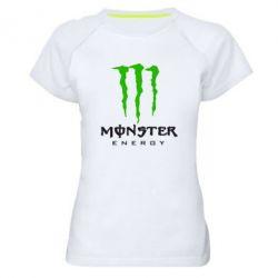 Женская спортивная футболка Monster Energy Classic - FatLine