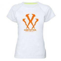 Женская спортивная футболка Monster Energy W - FatLine