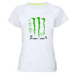 Женская спортивная футболка Monster One - FatLine